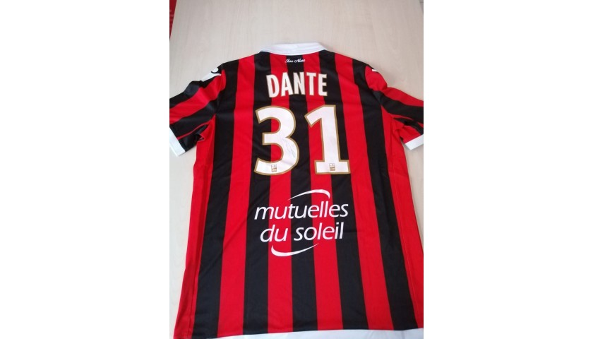 Dante's Nice Signed Match Shirt, 2018/19