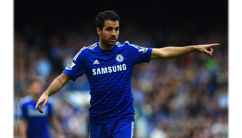 Fabregas' Official Chelsea Signed Shirt, 2014/15