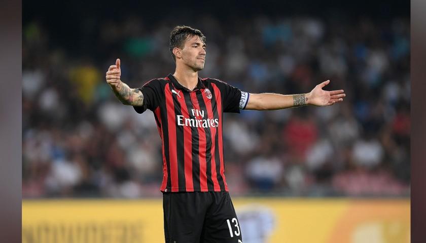 Romagnoli's Official Milan Signed Shirt, 2018/19
