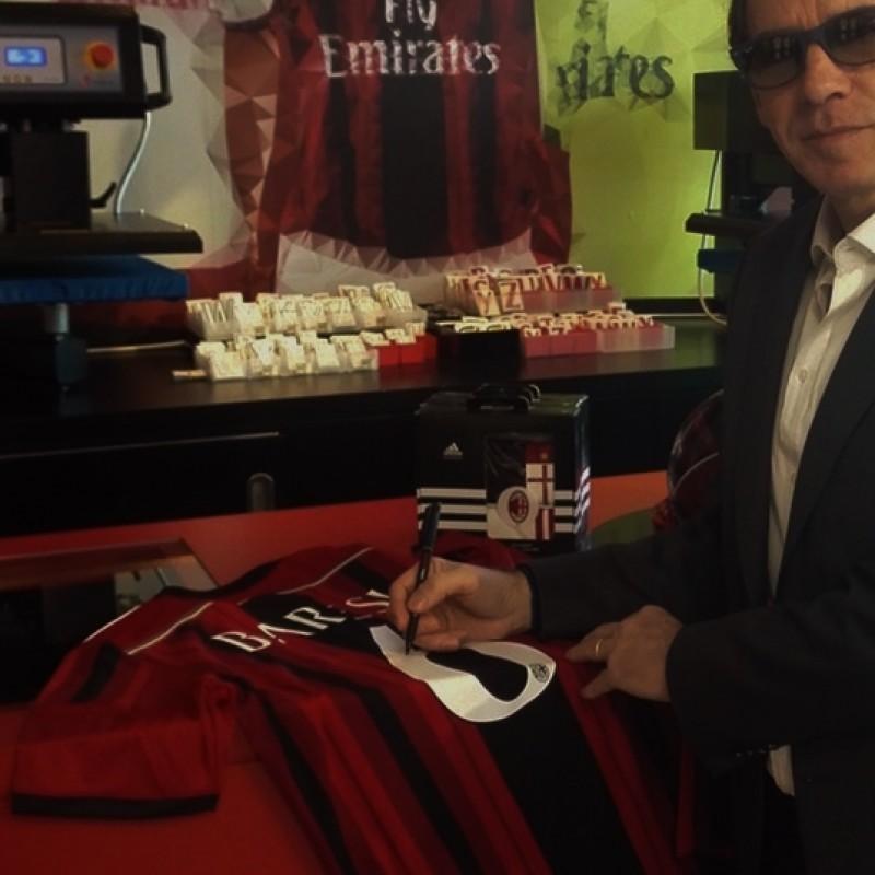 Franco Baresi Milan shirts - signed
