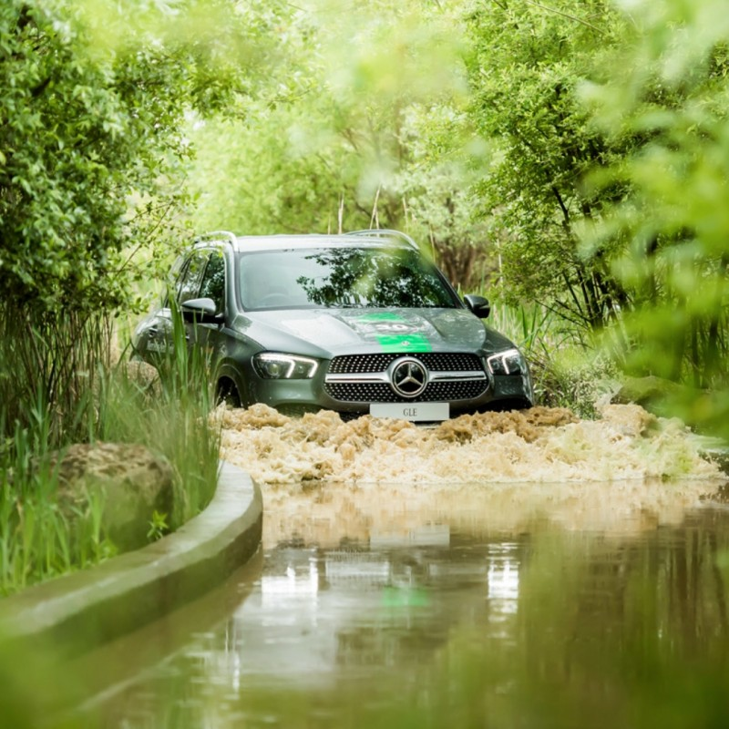 Family Mercedes/Range Rover Driving Experience