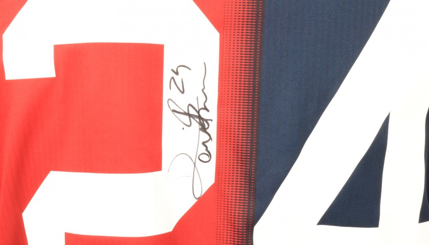 Bessa's Genoa Match-Issue Signed Shirt, 2018/19