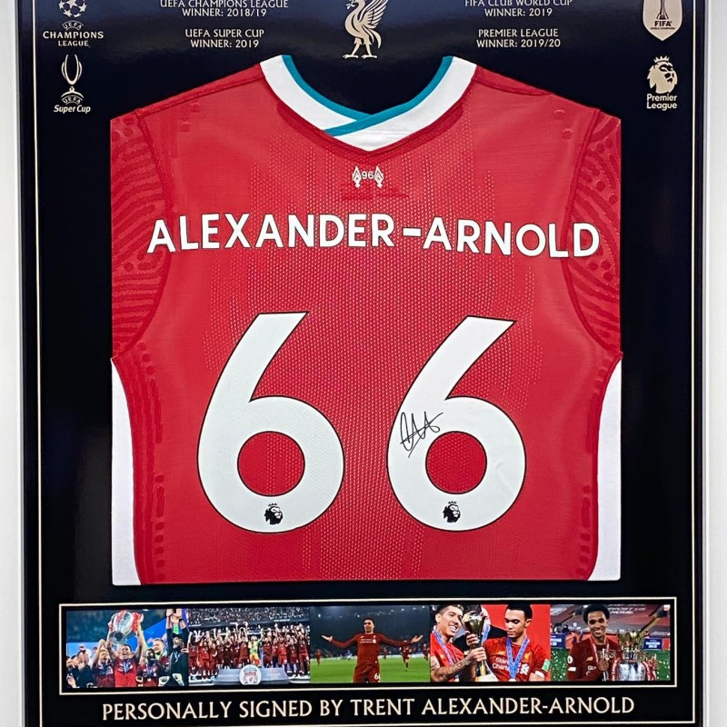 Liverpool Shirt Signed by Trent Alexander-Arnold
