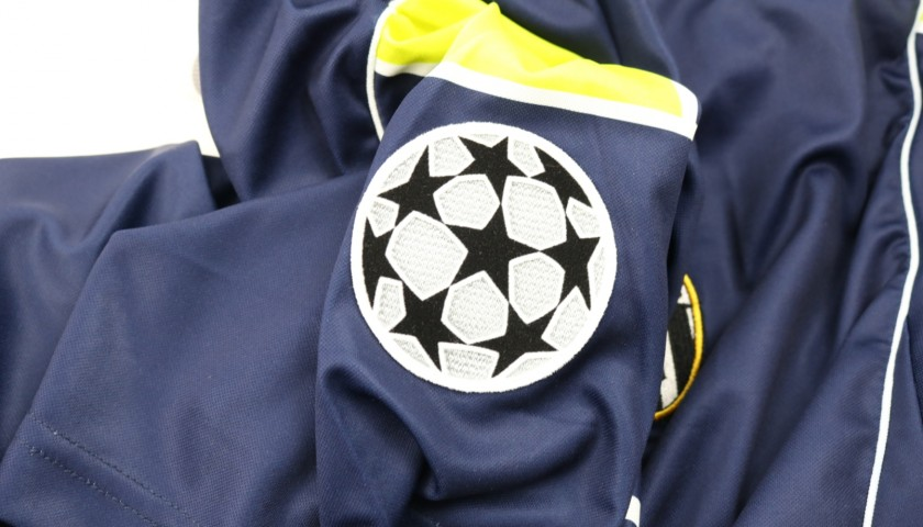 Zanchi's Juventus Match Shirt, Champions League 2000/01