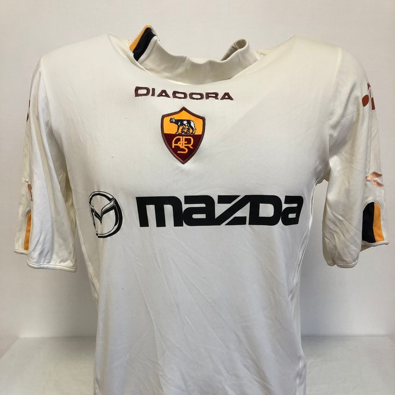 De Rossi's Official Roma Signed Shirt, 2003/04