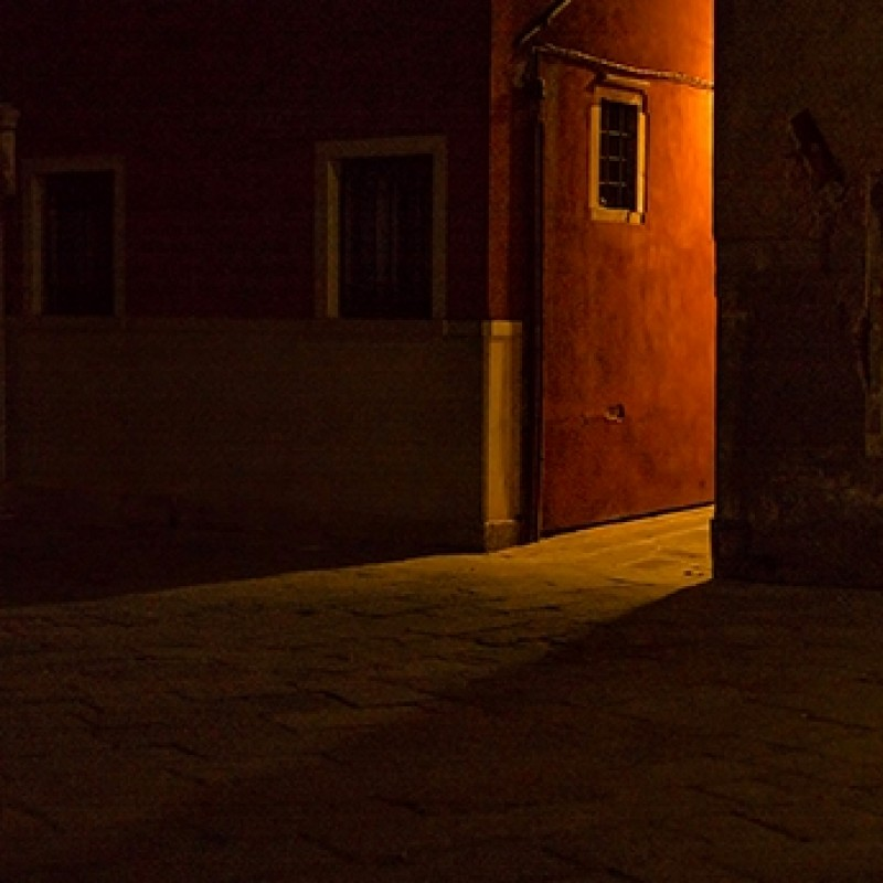 Venice at Night Photograph by Timothy Hyde