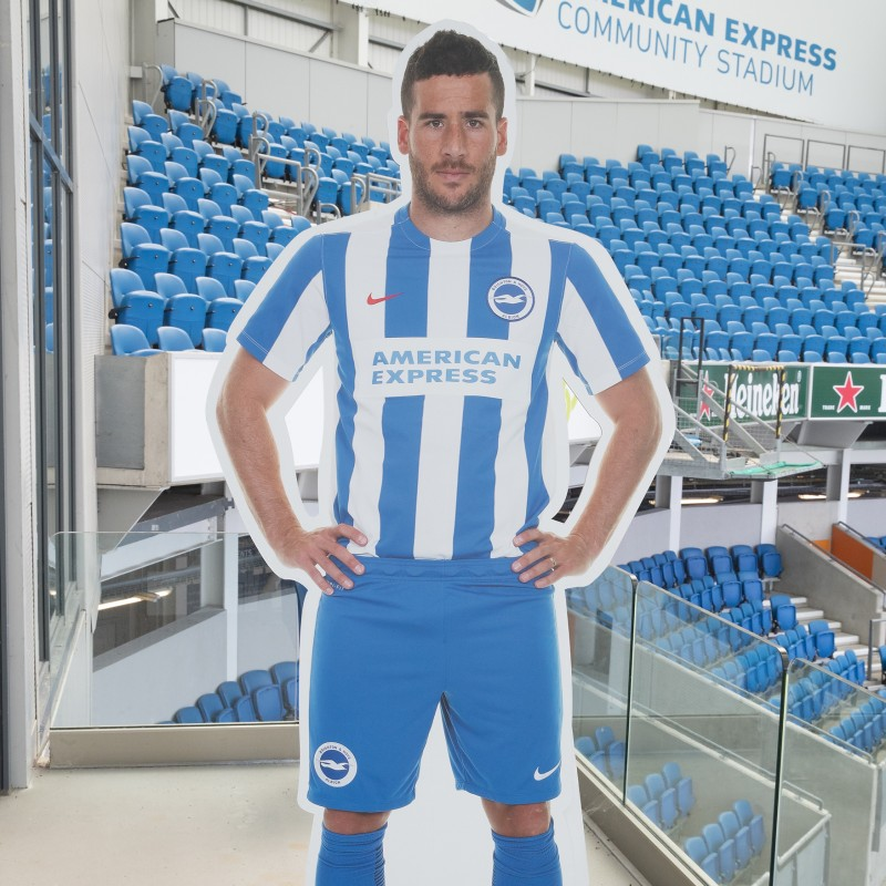 Tomer Hemed Signed Cardboard Cut-Out