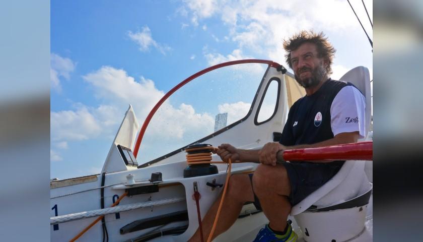 Sailing Experience with Giovanni Soldini aboard the Maserati Multi 70 Trimaran