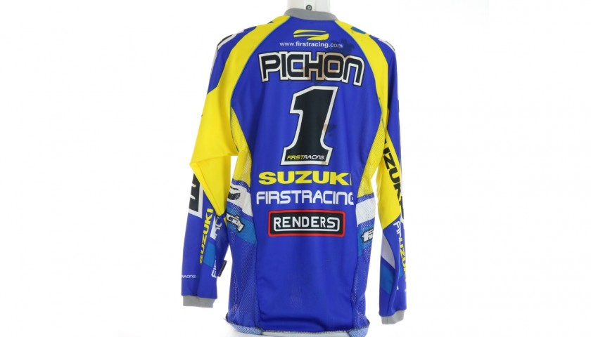 Mickael Pichon's Worn and Signed Shirt, 2002