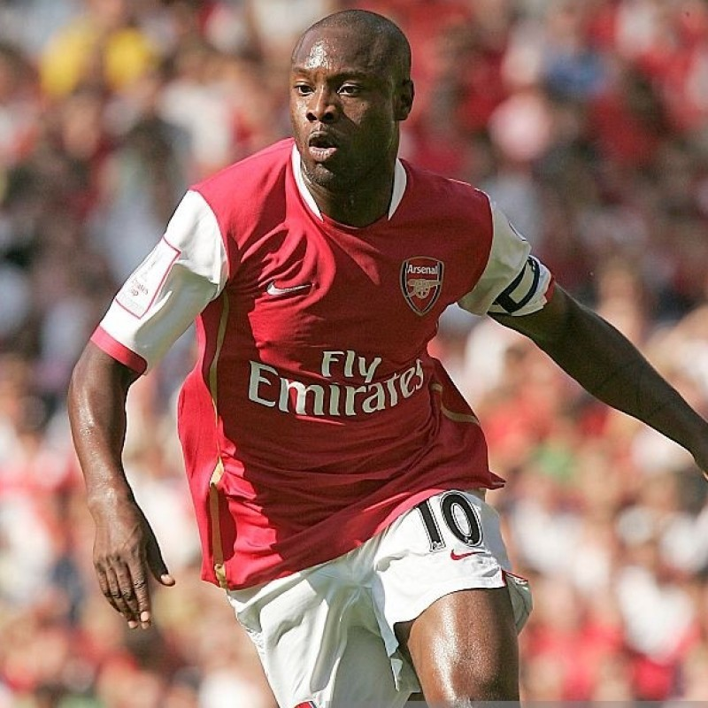 Gallas' Arsenal Worn Shirt, Emirates Cup 2007