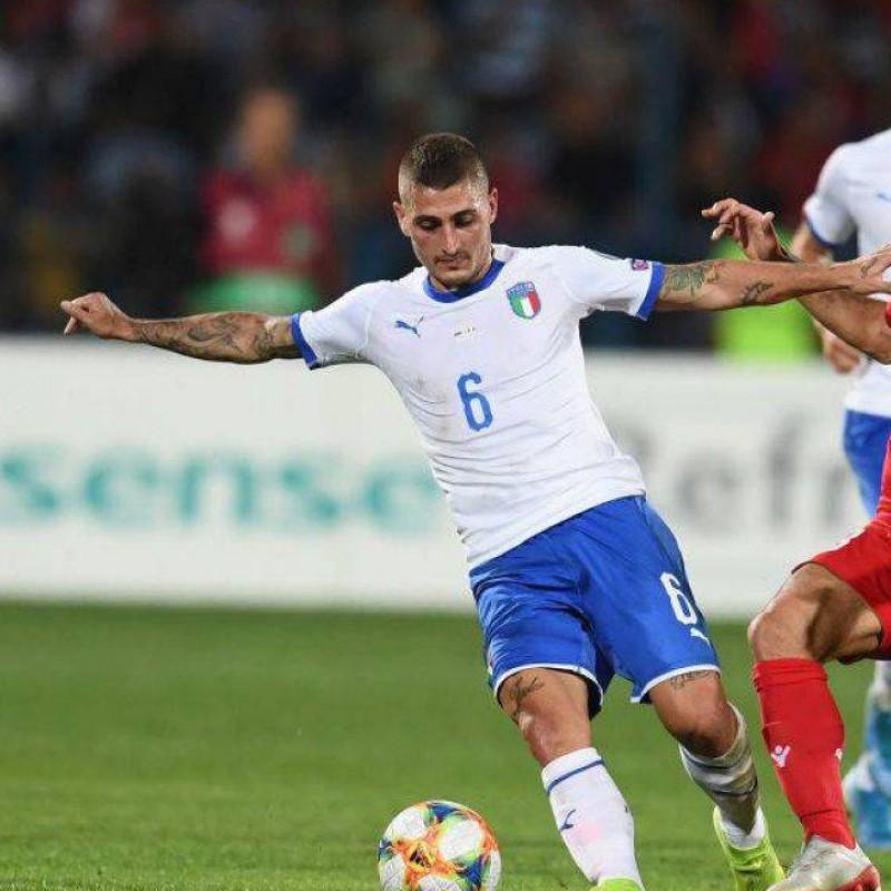 Verratti's Match Shirt, Armenia-Italy 2019