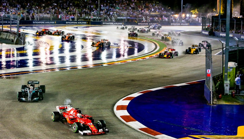 Singapore F1 Grand Prix VIP Weekend for Two with Accommodation
