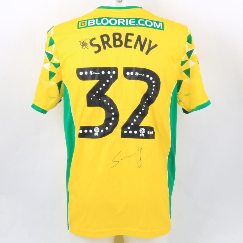 Srbeny's Norwich Poppy Match Shirt - Signed
