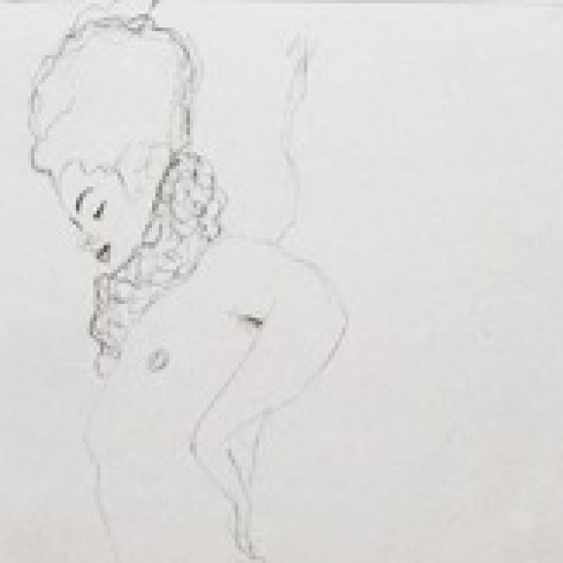"""Monique"" by Gustav Klimt"