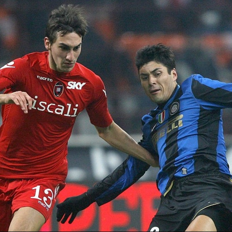 Cruz's Worn and Unwashed Shirt, Inter-Cagliari 2009