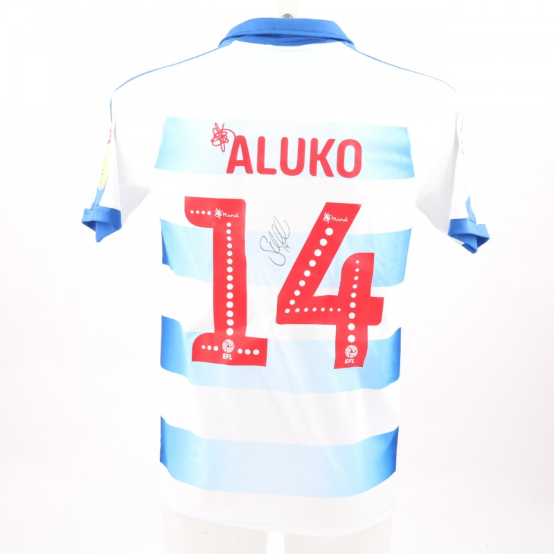 Aluko's Match-Worn Reading FC Signed Poppy Home Shirt