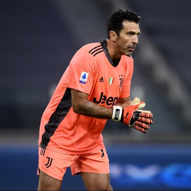 Buffon's Official Juventus Signed Shirt, 2020/21