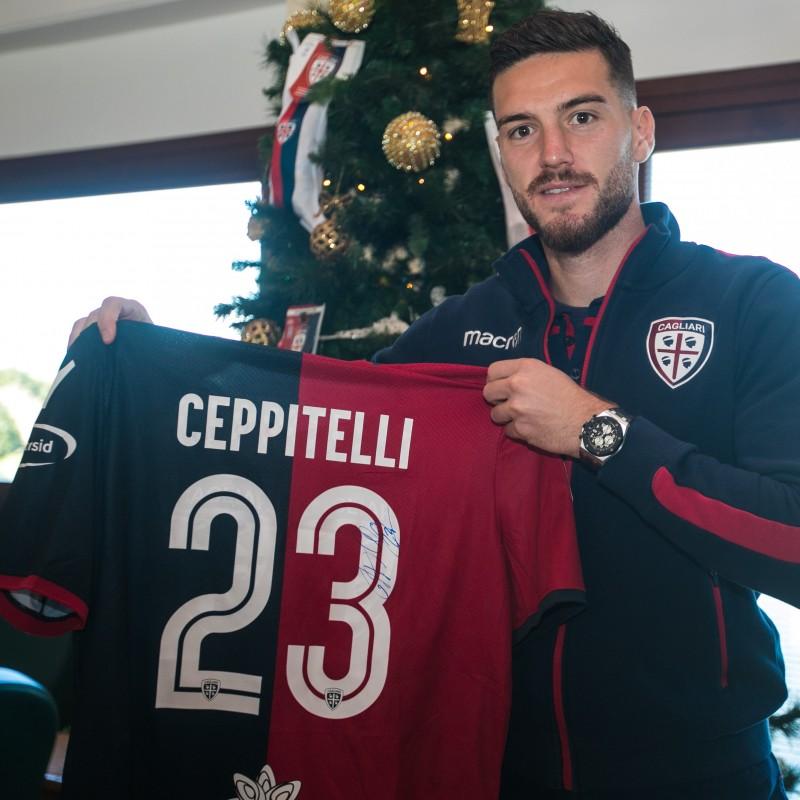 Cagliari Festive Shirt - Worn and Signed by Ceppitelli