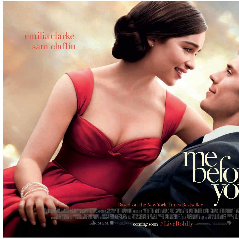 Me Before You European Red Carpet Premiere, London & Signed Book