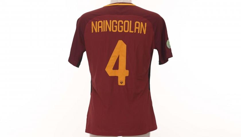 """Nainggolan's """"Todos Juntos"""" Shirt, AS Roma-Chapecoense 2017"""