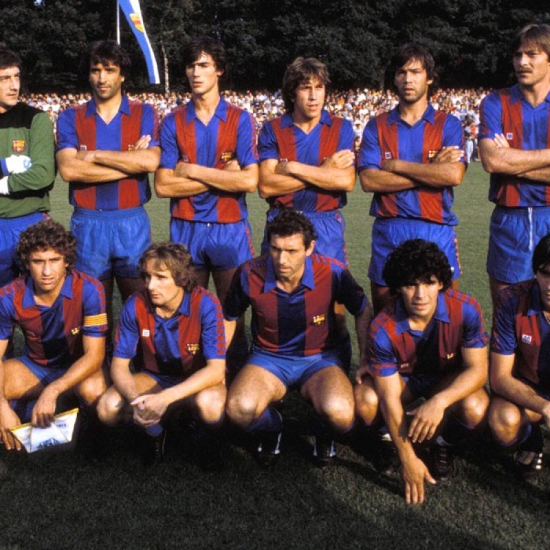 No. 6 Worn Shirt, Fiorentina-Barcelona 1982