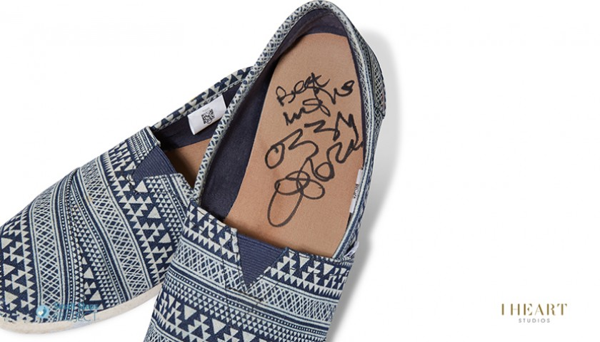 Ozzy Osbourne Signed Shoes
