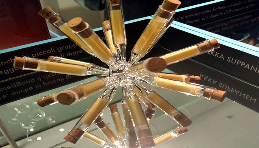 """Blown Glass Artwork """"Ricci di mare"""" by Ilkka Suppanen"""