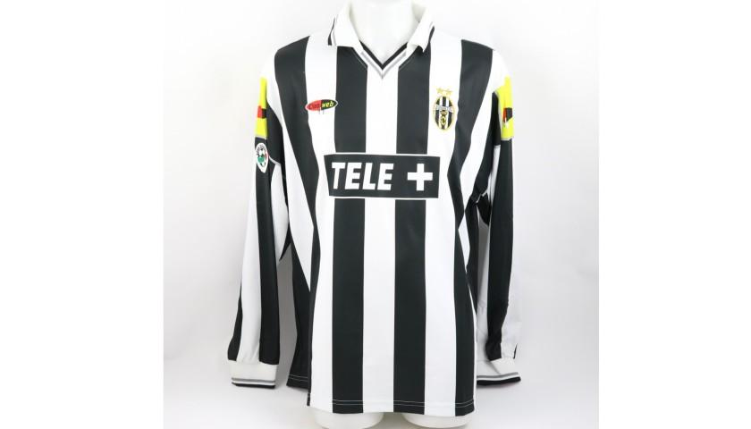 Birindelli's Juventus Match Shirt, Serie A 2000/01