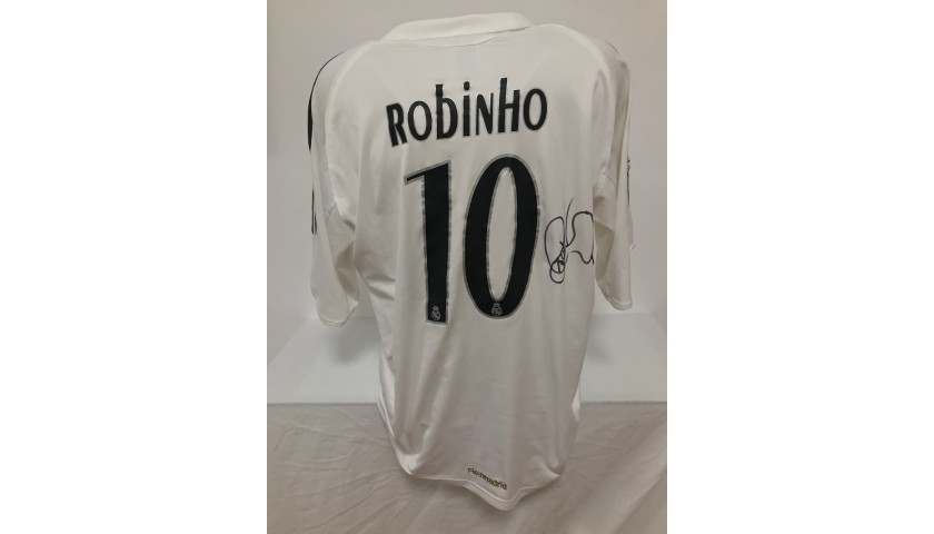 Robinho's Official Real Madrid Signed Shirt, 2005/2006