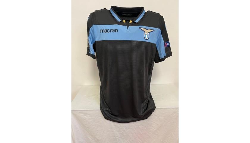 Lulic's Lazio Match Shirt, EL 2018/19