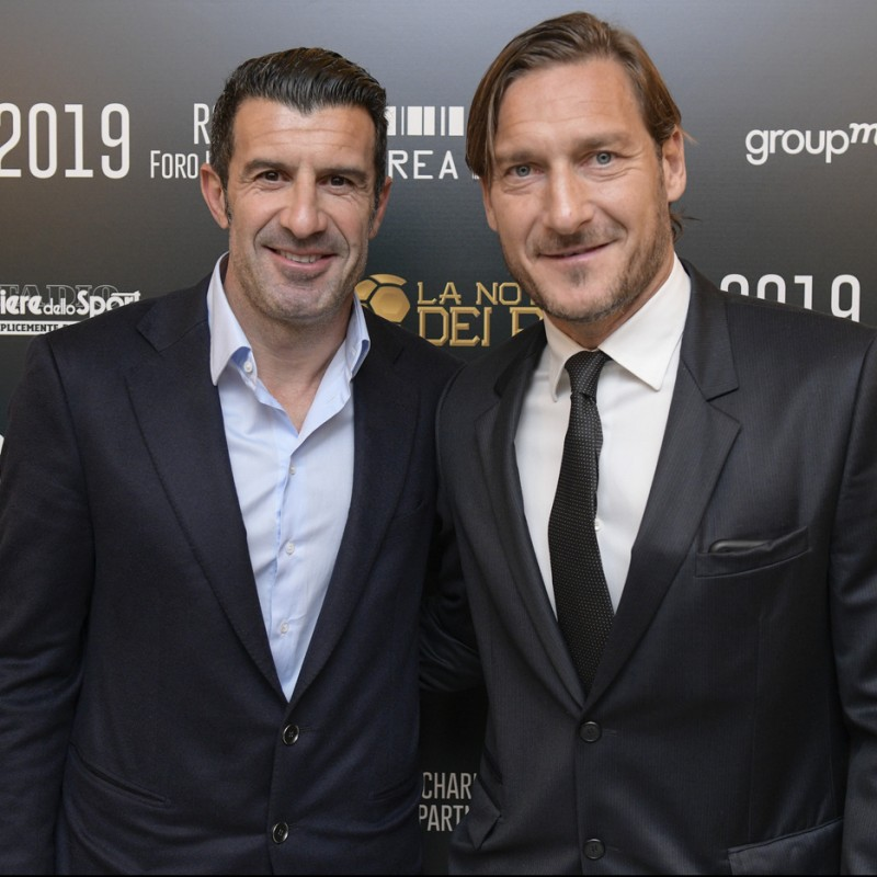 "Enjoy a ""Night of Kings"" Soccer Experience with Totti and Figo"
