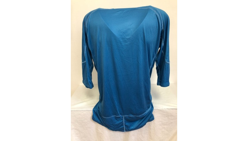 Italy Training Shirt - Signed by Parisse