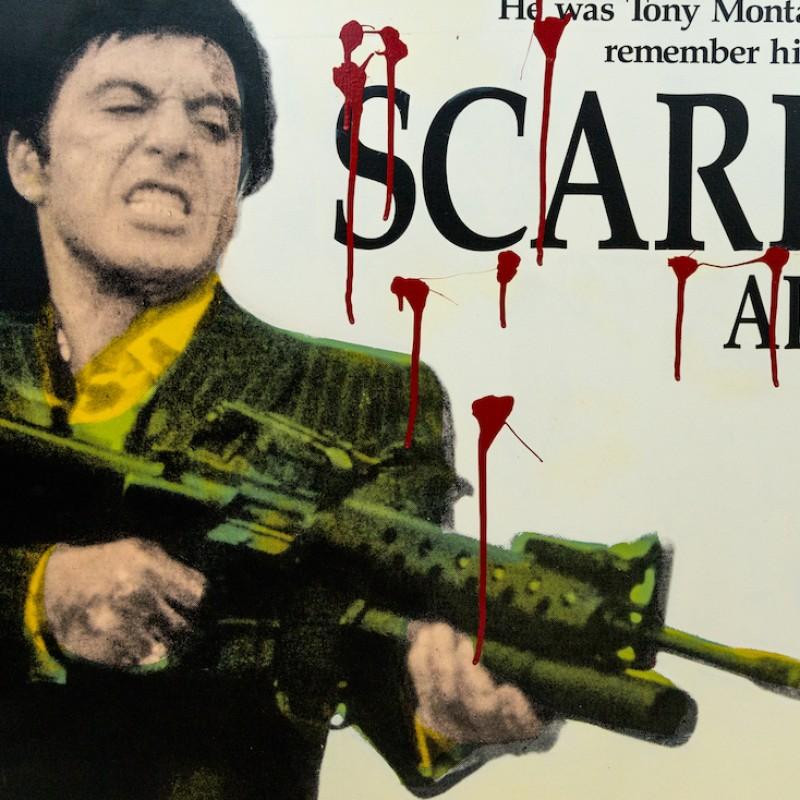"""Tony Montana Scarface"" by Steve Kaufman"