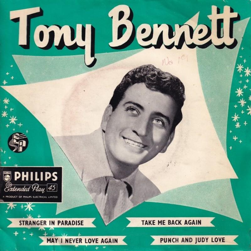 """Tony Bennett"" Vinyl Single - Tony Bennett, 1956"