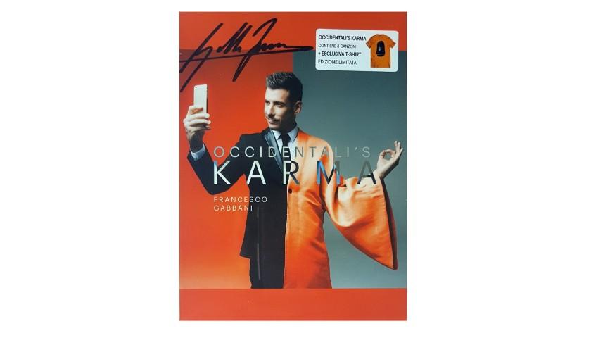 CD e T-Shirt autografati da Francesco Gabbani