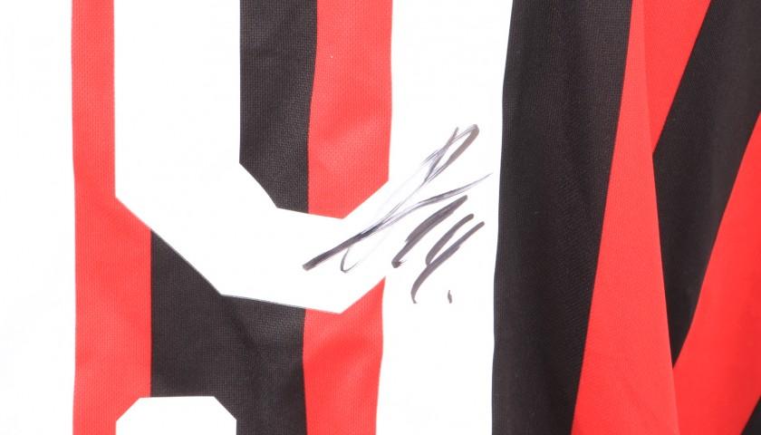 Piatek's Official AC Milan Signed Shirt, 2018/19