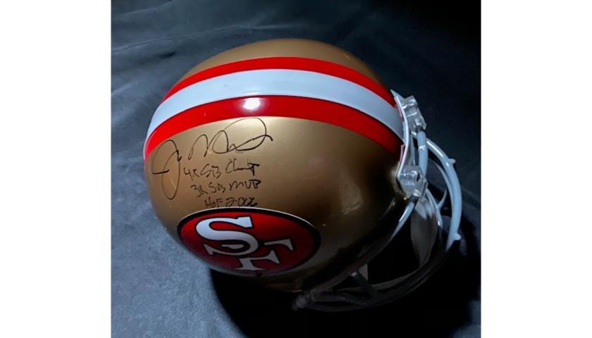 Joe Montana Signed San Francisco 49ers Helmet