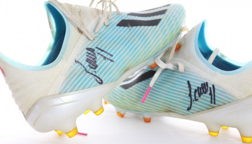 Correa's Worn and Signed Boots, 2019 Season