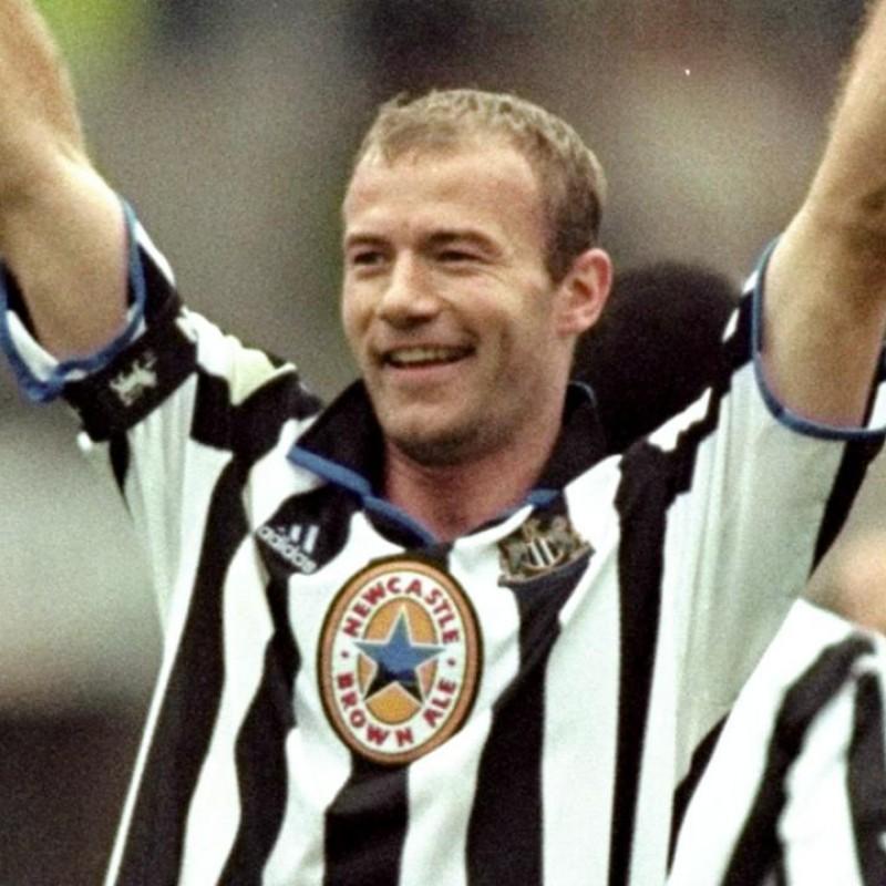 Shearer's Newcastle Match Shirt, 1999/00