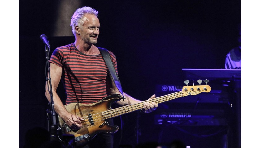 Meet Sting at his Las Vegas Residency