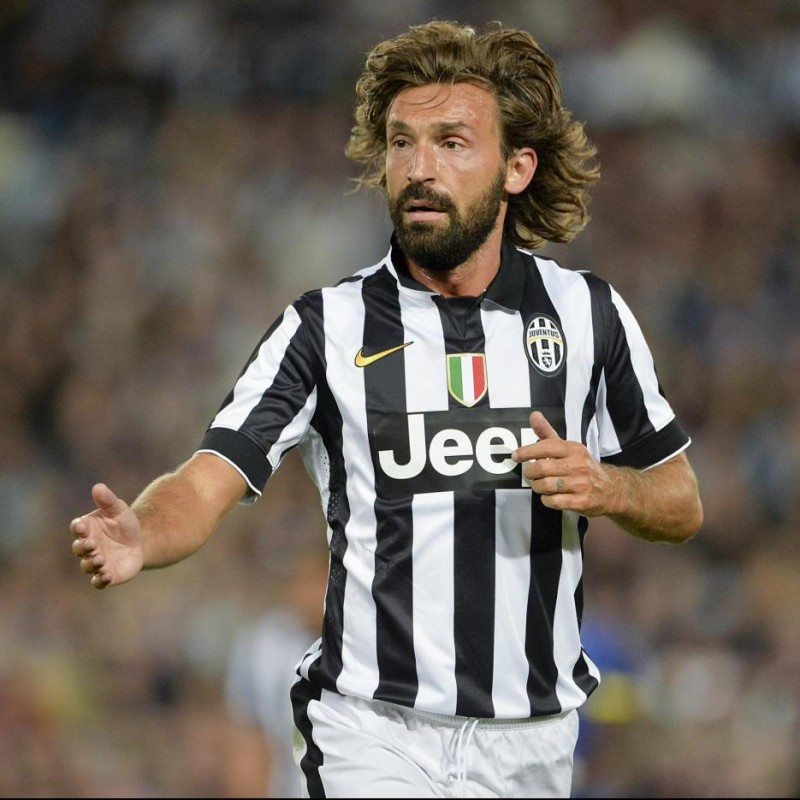 Pirlo's Match-Issued/Worn Shirt, Tim Cup FInal 2015