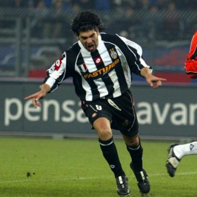 Salas' Juventus Signed Match Shirt, 2002/03