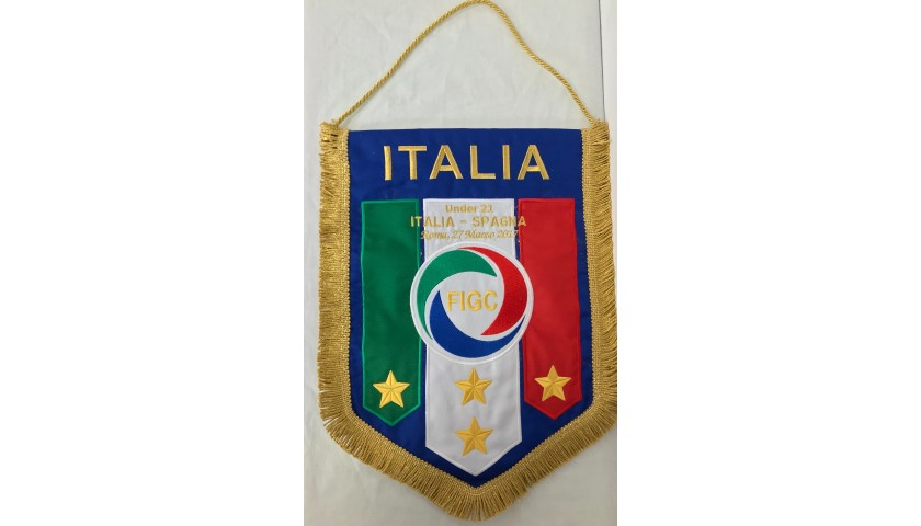 Official Pennant, Italy-Spain 2017