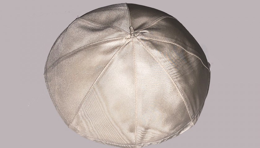 Skullcap Worn by Pope Francis