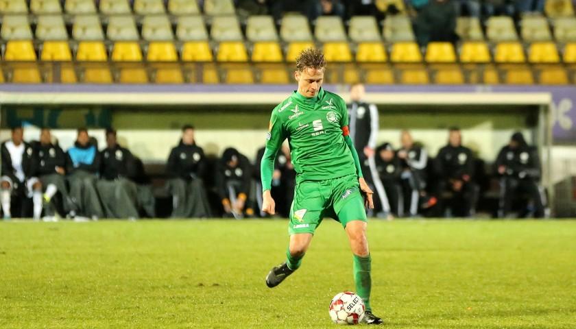 Lommel SK Match Worn Shirt 2019-2020 signed by Glenn Neven