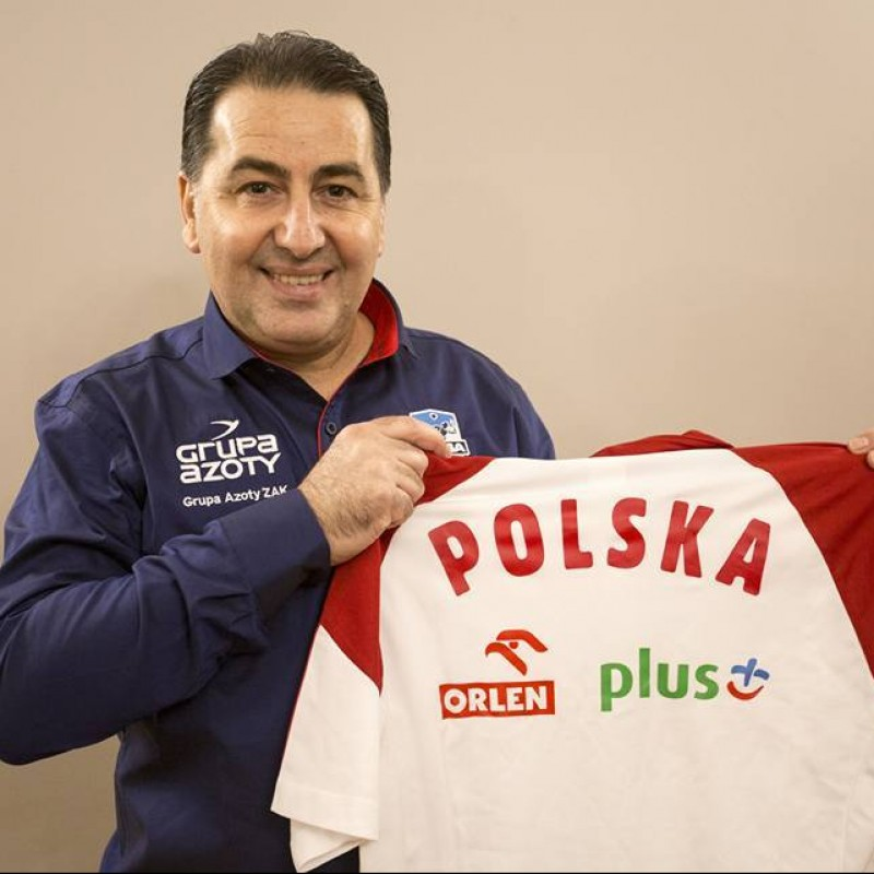 Poland Volleyball 2017 Signed Polo Shirt