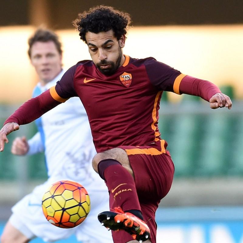 Salah's Worn and Unwashed Shirt, Chievo-Roma 2016