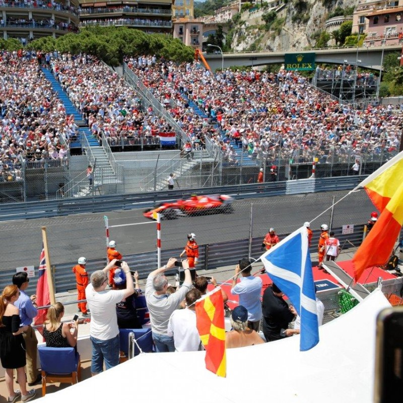 VIP Amber Lounge Celebrity Yacht Experience at the 2018 Monaco GP