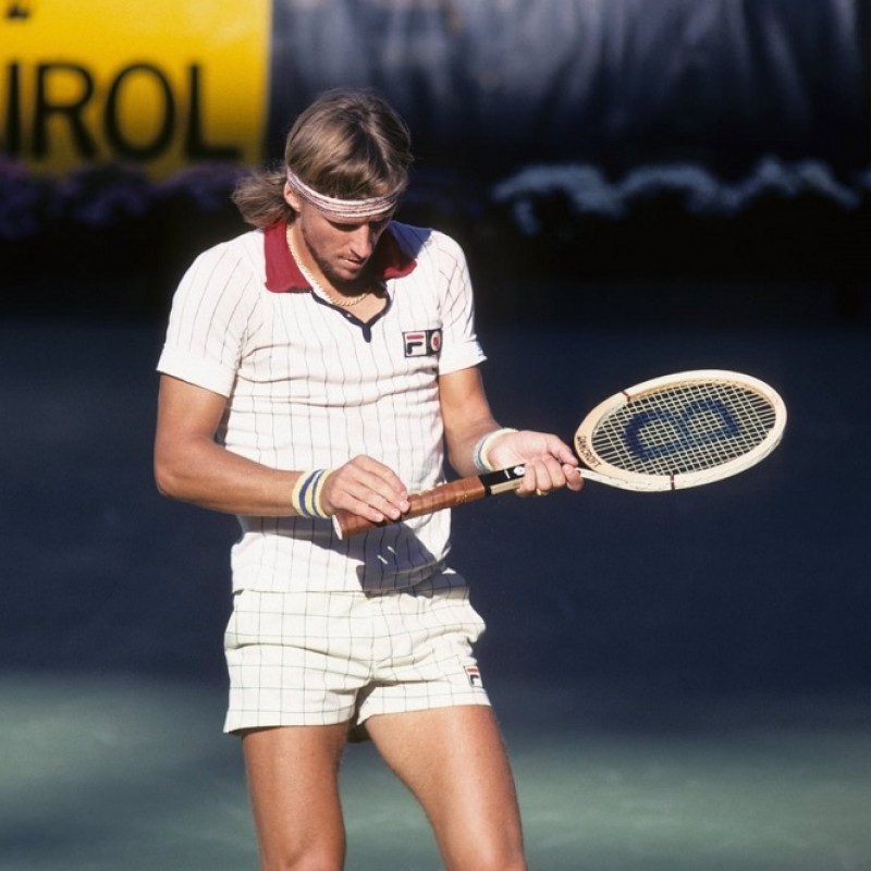 Bjorn Borg's Bancroft Racquet, 1978