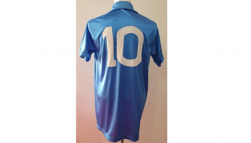 Maradona's Napoli Signed Match Shirt, 1988/89